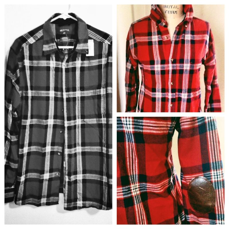 Plaid Flannel Refashion